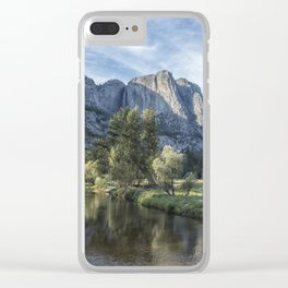 Yosemite Falls from Cook's Meadow Clear iPhone Case