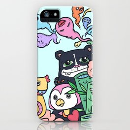 The Love Cocoon iPhone Case