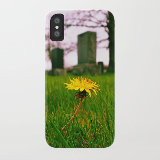 Sign of spring iPhone Case