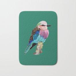 Lilac Breasted Roller Bird Bath Mat