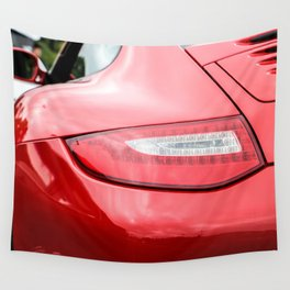 Porschee Flashlight Wall Tapestry