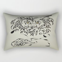 Royal Facade  Rectangular Pillow