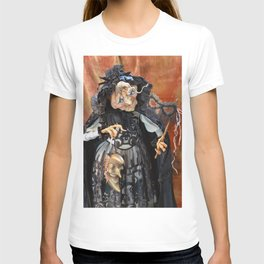 Rucus Studio Late to the Party - Pumpkin Lady T-shirt