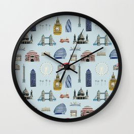 All of London's Landmarks  Wall Clock