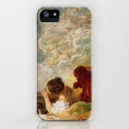 """Jean-Honoré Fragonard """"La Laitière et le Pot au Lait"""" iPhone Case"""