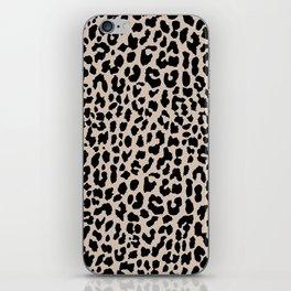 Tan Leopard iPhone Skin
