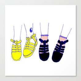 Girl Gang #3 Canvas Print