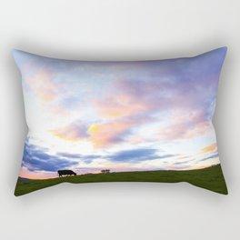 Sonoma County Sunset Rectangular Pillow