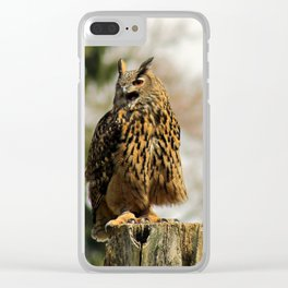 I am the boss! Clear iPhone Case