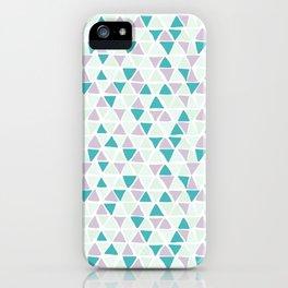 Geometrica poppy iPhone Case