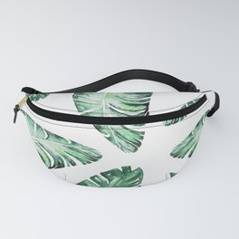 Tropical Banana Leaves 2 #society6 #buyart Fanny Pack