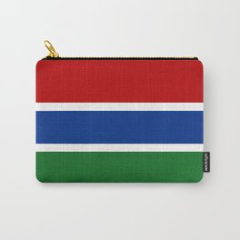 gambia country flag Carry-All Pouch
