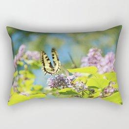 Flying swallowtail Rectangular Pillow