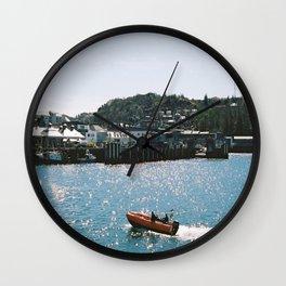 Sparkling Sea Wall Clock