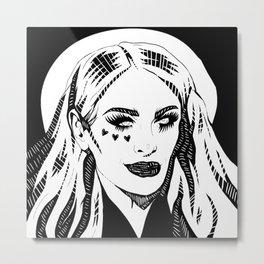 Gigi Gorgeous Metal Print