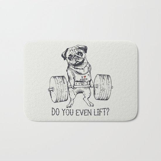 Do You Even Lift Bath Mat