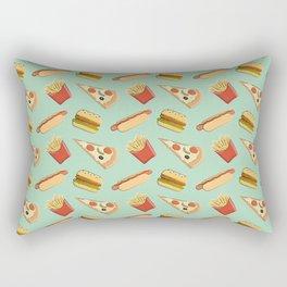 Fast food pattern Rectangular Pillow