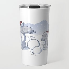 Happy Hoth-idays! Travel Mug
