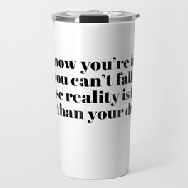 you know you're in love Travel Mug