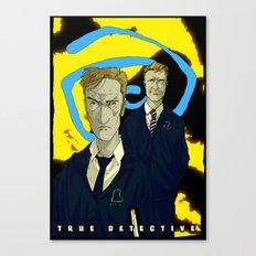 Hail The Yellow King Canvas Print