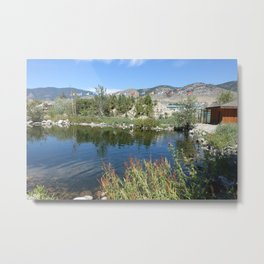 Landscape picture of northern BC Metal Print