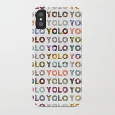 YOU ONLY LIVE ONCE Slim Case iPhone X