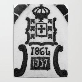 Monarchy symbols Poster