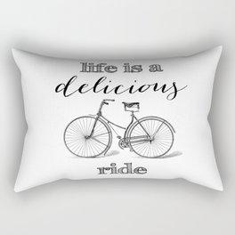 Delicious Ride Rectangular Pillow