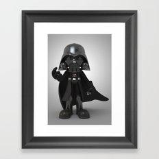 Skull Vader Framed Art Print