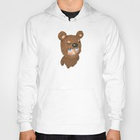 furry Hoodies featuring Furry baby by Metin Seven