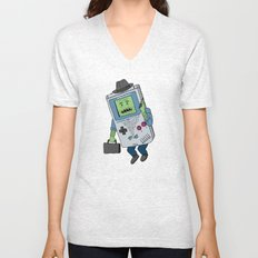 Game Man Unisex V-Neck