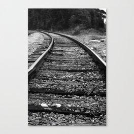 Going Left Canvas Print