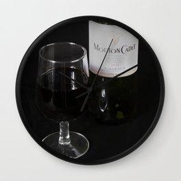 A Little Nip - Wine Wall Clock