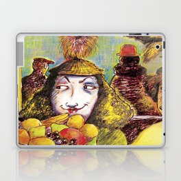 Fruit Hats and Feathers Laptop & iPad Skin