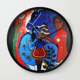Razljubit (Someone you once loved) Wall Clock