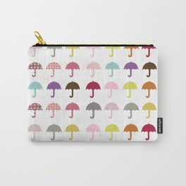 Umbrella Fun Pattern Carry-All Pouch