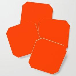 Flaming Orange Coaster