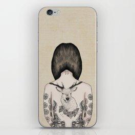something flowery  iPhone Skin
