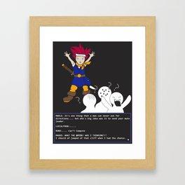 Chrono Lost Framed Art Print