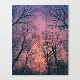When the Dawn Is Still Dark Canvas Print