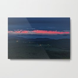 Sunrise in Pipestem West Virginia Metal Print