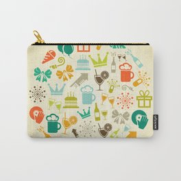 Holiday a sphere Carry-All Pouch