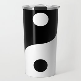 Yin And Yang Sides Travel Mug