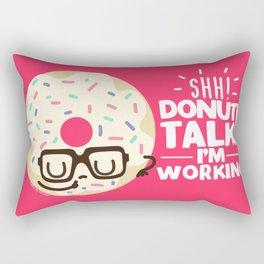 Donut Talk! Rectangular Pillow