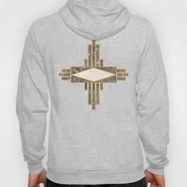 Luxurious gold and marble Hoody