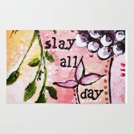 Slay by Artseespree Rug