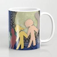 madoka magica Mugs featuring Paper Magica by Viga Victoria Gadson
