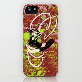 The Rubberband Girl iPhone Case