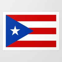 puerto rico Art Prints featuring Puerto Rico by McGrathDesigns