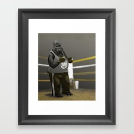 Old School Champion 2 Framed Art Print
